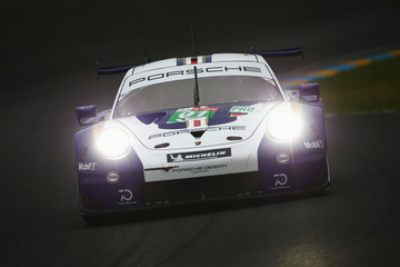 Gianmaria Bruni Le Mans 24 Hour Race - Qualifying