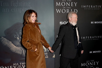 Giannina Facio Premiere Of Sony Pictures Entertainment's 'All The Money In The World' - Arrivals
