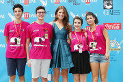 Alessia Piovan attends the Giffoni Film Festival photocall on July 26, 2014 in Giffoni Valle Piana, Italy.