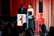 Honoree Vanessa Bayer accepts an award onstage during Gilda's Club NYC 24th Annual Gala at The Pierre Hotel on November 07, 2019 in New York City.