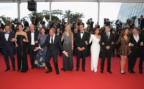 'Sink Or Swim (Le Grand Bain)' Red Carpet Arrivals - The 71st Annual Cannes Film Festival
