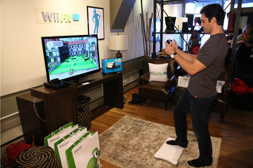 Gilles Marini Wii Fit U Brings Fun And Fitness To The Nintendo Chalet During 2014 Sundance Film Festival - Day 2 - 2014 Park City