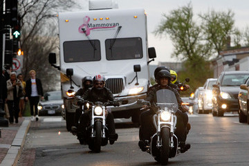 Gilles Marini Kiehl's LifeRide for the Mammovan Georgetown DC Finale