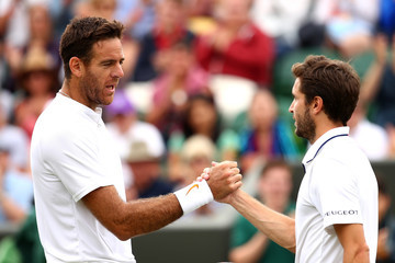 Gilles Simon Day Eight: The Championships - Wimbledon 2018