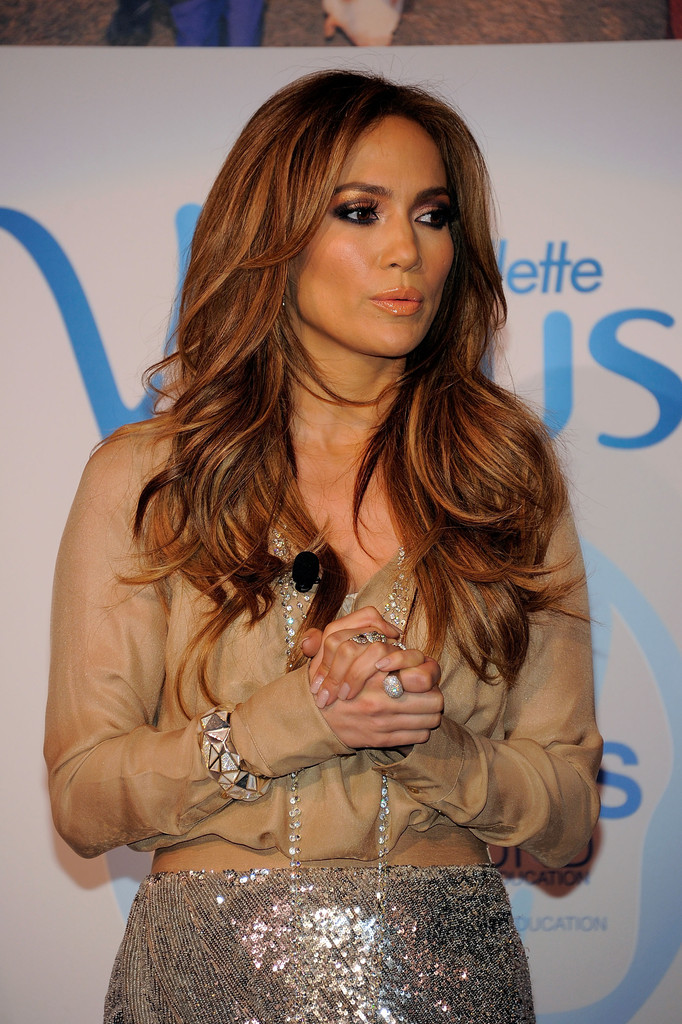 Jennifer Lopez Light Hair Color Actress jennifer lopez attends