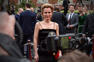Gillian Anderson The Olivier Awards With Mastercard - VIP Arrivals