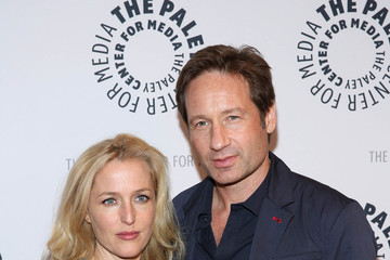 """Gillian Anderson Paley Center For Media Presents:""""The Truth Is Here: David Duchovny And Gillian Anderson On The X-Files"""""""