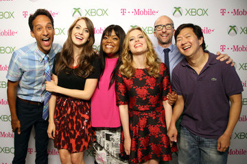 Gillian Jacobs Alison Brie Xbox One At Comic-Con 2013 - Day 2