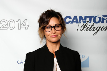 Gina Gershon Annual Charity Day Hosted By Cantor Fitzgerald And BGC - Cantor Fitzgerald Office - Arrivals