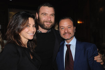 """Gina Gershon The Cinema Society With Chrysler & Bally Host The Premiere Of """"Stand Up Guys"""" - After Party"""