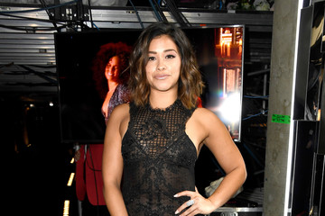Gina Rodriguez The 59th GRAMMY Awards -  Backstage