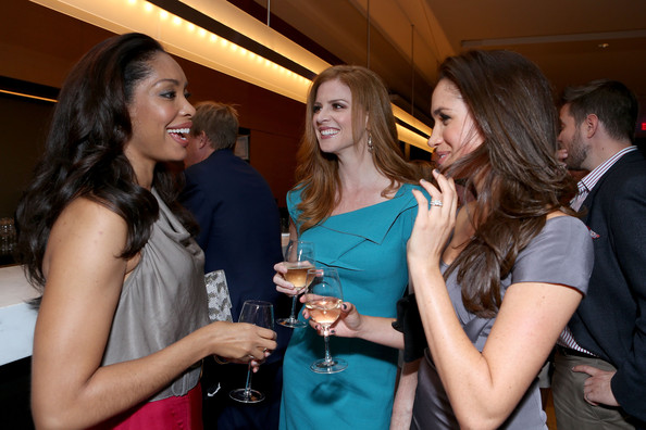 Gina Torres Meghan Markle Photos Finca Canada Fundraiser At Tiff 2012 Toronto International