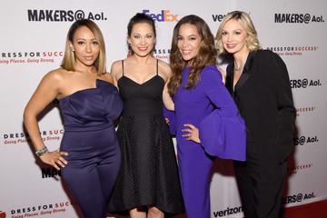 Ginger Zee Dress for Success 20th Anniversary Gala - Arrivals