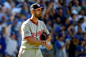 Gio Gonzalez Division Series - Washington Nationals v Los Angeles Dodgers - Game Three