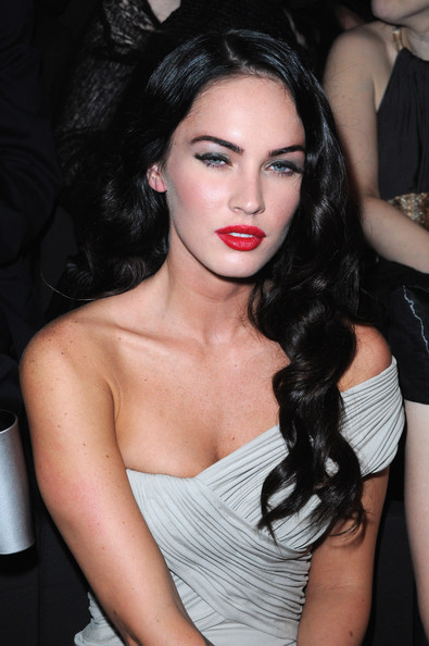 Megan Fox Actress Megan Fox attends Giorgio Armani Prive Fashion Show at