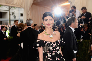 Giovanna Battaglia Red Carpet Arrivals at the Met Gala — Part 3