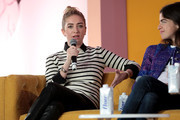 Bumble Founder & CEO Whitney Wolfe and Man Repeller Founder Leandra Medine speak onstage at Girlboss Rally Hosted By Sophia Amoruso's Girlboss on November 11, 2017 in New York City.