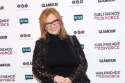 """Television personality Caroline Manzo attends the """"Girlfriend's Guide To Divorce"""" New York Series Premiere at Crosby Street Hotel on November 20, 2014 in New York City."""