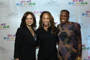 (L-R) CNN Anchorwoman Soledad O'Brien, Marjorie Harvey and Mikki Taylor attend Girls Who Rule The World Mentoring Weekend and The Steve & Marjorie Harvey Foundation - Day 1 at Evergreen Marriott Conference Resort on October 28, 2011 in Atlanta, Georgia.