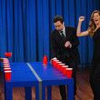 Gisele Bundchen and Matthew McConaughey are flip cup experts.
