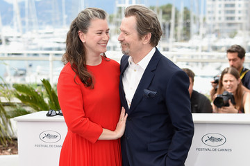 Gisele Schmidt Rendez-Vous With Gary Oldman Photocall - The 71st Annual Cannes Film Festival