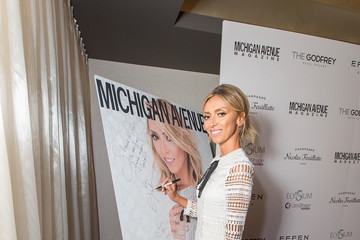 Giuliana Rancic Michigan Avenue Magazine Celebrates Its Spring Fashion Issue with Giuliana Rancic at the Godfrey Hotel Chicago
