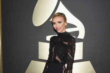 Giuliana Rancic The 57th Annual GRAMMY Awards - Red Carpet