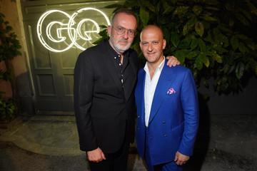 Giuseppe Santoni GQ Celebrates Milan Men's Fashion Week With Armie Hammer and Virgil Abloh