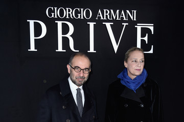 Giuseppe Tornatore Giorgio Armani Prive : Front Row - Paris Fashion Week - Haute Couture Spring Summer 2016
