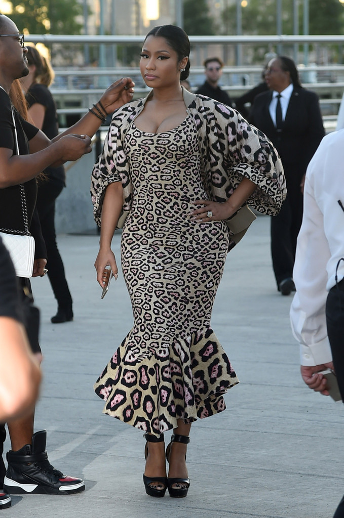 Nicki minaj photos photos givenchy arrivals spring Nicki minaj fashion style 2016