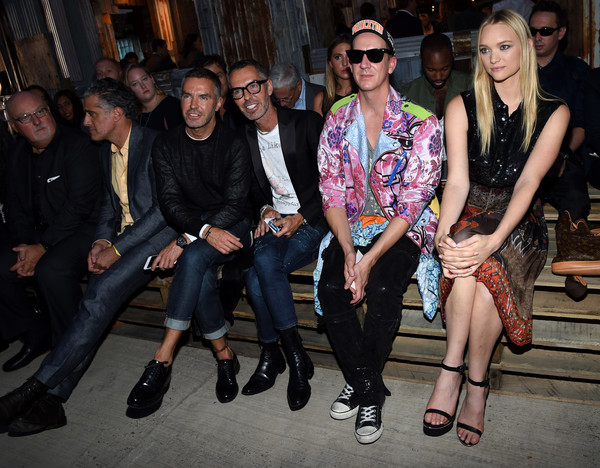 Givenchy Front Row Spring 2016 New York Fashion Week