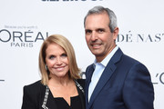 Katie Couric and John Molner attends Glamour's 2017 Women of The Year Awards at Kings Theatre on November 13, 2017 in Brooklyn, New York.