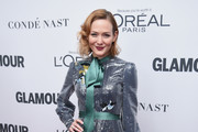 Actress Louisa Krause attends Glamour's 2017 Women of The Year Awards at Kings Theatre on November 13, 2017 in Brooklyn, New York.