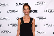Model Christy Turlington Burns attends Glamour's 23rd annual Women of the Year awards on November 11, 2013 in New York City.
