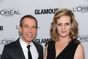 Jeff Koons and his wife Justine Shankbone attend Glamour's 23rd annual Women of the Year awards on November 11, 2013 in New York City.