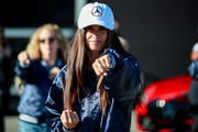Sara Sampaio attends the Glamour and Mercedes-Benz AMG Driving Academy Experience at Laguna Seca at WeatherTech Raceway Laguna Seca on October 03, 2019 in Salinas, California.