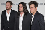 Caleb Followill, Nathan Followill and Jared Followill attend Glamour Women Of The Year Awards  at Berkeley Square Gardens on June 7, 2011 in London, England.