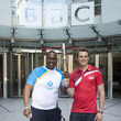 James Cracknell and Michael Pusey