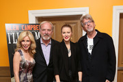 "(L-R) Kim Campbell, James Keach, Ashley Campbell and Trevor Albert attend the ""Glen Campbell...I'll Be Me"" New York Premiere at Crosby Street Hotel on October 22, 2014 in New York City."