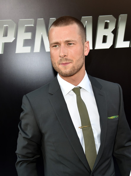Glen Powell Pictures The Expendables 3 Premieres In
