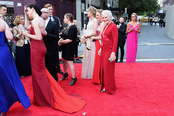 Glenn Close 2016 Tony Awards - Red Carpet