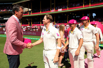 Glenn McGrath Australia v England - Fifth Test: Day 3