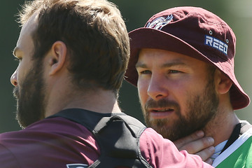 Glenn Stewart Manly Sea Eagles Training Session