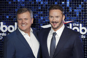 Aled Jones (L) and Russell Watson attend The Global Awards 2020 at Eventim Apollo, Hammersmith on March 05, 2020 in London, England.