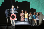 Mike Brown, CEO of Goldman Sachs speaks on stage during the Global Citizen Festival: Mandela 100 at FNB Stadium on December 2, 2018 in Johannesburg, South Africa.