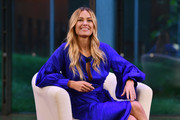 All Hands And Hearts- Smart Response Co-founder Petra Nemcova speaks onstage during Global Citizen - Movement Makers at The Times Center on September 25, 2018 in New York City.