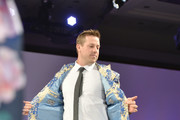Denver Bronoco quaterback Case Keenum at the Global Down Syndrome Foundation 10th anniversary BBBY fashion show at Sheraton Denver Downtown Hotel on October 20, 2018 in Denver, Colorado.