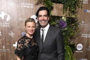 Amy Smart and Carter Oosterhouse  attend the Global Green 2019 Pre-Oscar Gala  at Four Seasons Hotel Los Angeles at Beverly Hills on February 20, 2019 in Los Angeles, California.