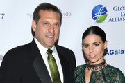 GLA CEO Scott Santarella (L) and Ally Hilfiger attend the Global Lyme Alliance third annual New York City Gala on October 11, 2017 in New York City.
