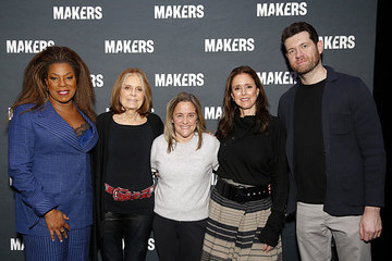 Gloria Steinem Dyllan McGee The 2020 MAKERS Conference - Day Two